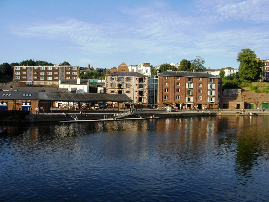 A picture of Exeter Quay